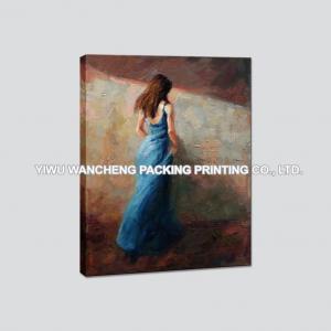 China Girls Portrait Oil Painting Canvas Art Prints on sale
