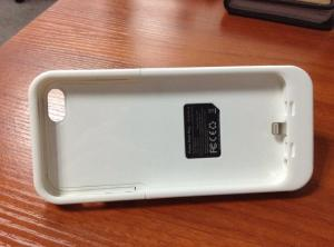 China Emergency Mophie Styled Iphone 5s External Battery Case With Li - Polymer Battery on sale