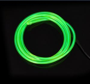 China EL Wire / Electroluminecent Wires - Green for Indoor and Outdoor Advertisement on sale