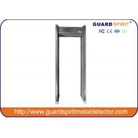6/12/18 Milti Detect Zones Metal Walk Through Gate LED Light Alarm