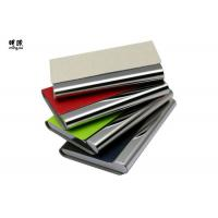 China Pocket Business Card Holder Organizer , Slim Leather Wallet Credit Card Holder With Name on sale