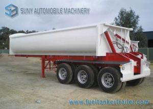 China 24 Cubic ADR Standards 3 Axles Side Tipper Semi Trailer 40 T on sale