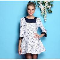 China wholesale brand women dress women apparel fashion women clothing wholesale brand fashion BL866-blue on sale