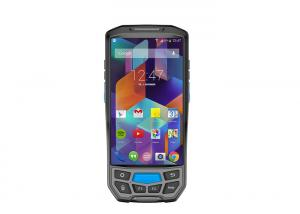 China 5.0 Inch Handheld Terminal With Printer , Android 7.0 Handheld PDA With Printer on sale