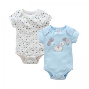 China Cute Design Unisex Newborn Baby Clothes / Baby Romper Bodysuit For Summer on sale