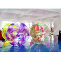 Colorful PVC Pool Inflatable Water Games ,  Lake Inflatable Water Ball