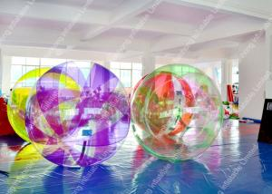 China Colorful PVC Pool Inflatable Water Games ,  Lake Inflatable Water Ball on sale
