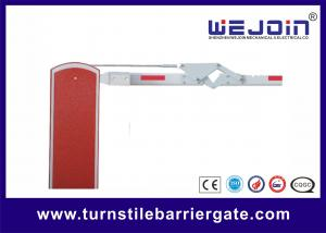 China Parking Lot Arm Gate Automatic Traffic Arm Barriers With Galvanized Steel Housing on sale