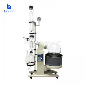 China Large vacuum distilling rotary evaporator for alcohol and ethanol extraction on sale