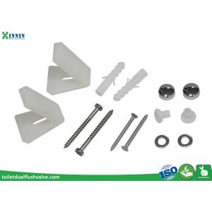 China Toilet Cistern Accessories , Stainless Steel Toilet Bolts With L Shape Bracket on sale