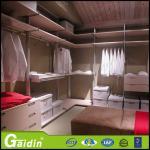 guardarropa modular del perfil del dormitorio de los muebles del armario del gabinete del paño de aluminio más caliente de los organizadores