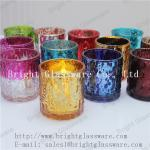 hot sale decorative tea light glass candle holder supply