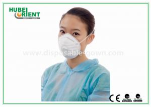 China Surgical FFP3 Cone Dust Disposable Face Mask , Valve face mask disposable on sale
