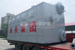 China Automatic and environmental protection SZS steam boiler with fuel oil (gas) for architectural material industry on sale