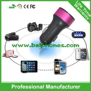 China Promotional colorful single USB car charger for smartphone on sale