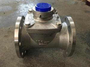 Quality Large Diameter Woltman Water Meter With Stainless Steel Material for sale
