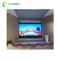 Seamless P10 Full Color LED Video Wall Display , Smd P5 P6 LED Sign Fixed Installation