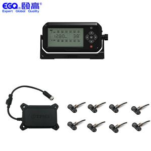 China Eight Tire RS232 Real Time RV Tire Pressure Monitoring System on sale