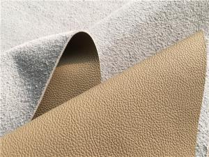 China Composition Leather for aircraft , upholstery sofa with any colors availiable on sale