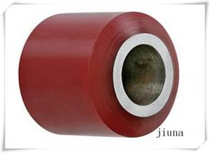 China Cast Iron Polyurethane Wheels Dia High Tear Resistance  80 * 70 / 60 / 55 Width on sale