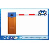 Vehicle Access Control Automatic Barrier Gate With Max 6m Straight Arm