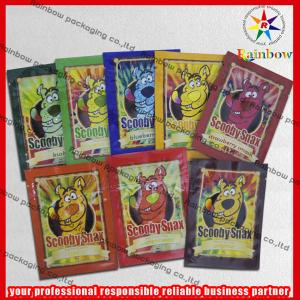 China Bolso del papel de aluminio de Scooby Snax Ziplcok reciclado para el acondicionamiento de los alimentos on sale