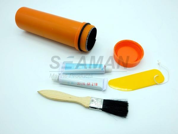 SOLAS Inflatable Life Raft Repair Kits Plastic Tube Liferaft