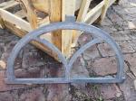 Luxury Antique Latest Cast Iron Windows Arched Design Sand Casting Technical