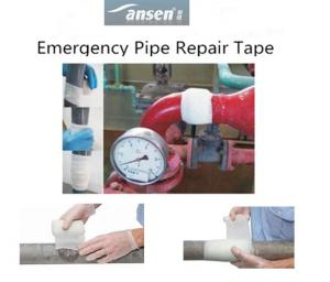 China Fast Rescure 950PSI Emergency Pipe Repair Bandage to Repair Pipes and Hoses on sale