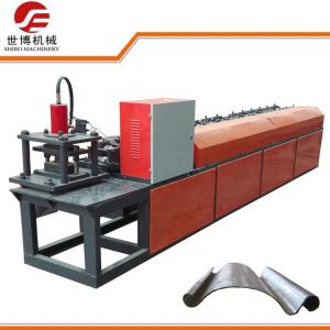 China 72mm Width Steel Roller Shutter Door Forming Machine With Metal Folding Machine  on sale