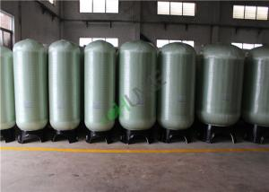 China 0.5t - 100t Flow Reverse Osmosis Water Storage Tank With Distributor on sale