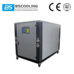 China Low temperature water cooled glycol chiller system in -5 degree celsius on sale