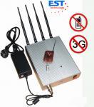 Jammer дистанционного управления мобильного телефона 3G/блокатор EST-505B с антенной 4