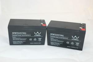 China Non Spillable Sealed Lead Acid Battery Copper Coated Silver Termimals on sale