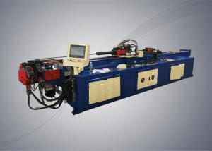 China Automatic pipe bending machine with PLC system controller for steel racks manufacturing on sale