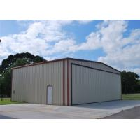 China Light Weight Steel Aircraft Hangar Buildings Attractive Appearance Eco Friendly on sale