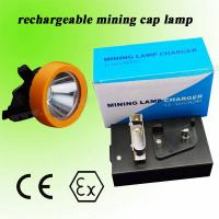 Long Life Industrial 3.7V LED Mining Lights Cap Lamps ATEX For Highway / tunnel