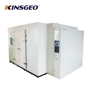 China Walk In Humidity Test Chamber Multi Function With Pv Actual Value Ni Cr Electric Heater on sale