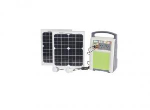 China Green Energy Portable Solar Battery System Simple Structure Easy Operate on sale