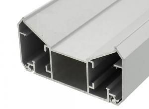 China Aluminum Alloy Depth Fabric LED Light Box Frame , Industrial Accessory Aluminum Profile on sale
