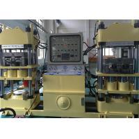China PLC Touch Screen Rubber Brake Pad Making Machine , 400 Ton Hot Press Machine on sale