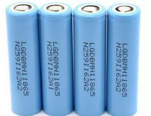China Light Weight 3.7V 18650 Rechargeable Battery  / Li Cylinder Battery For Web Phone on sale