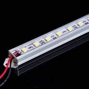 China SMD 5050 Rigid LED Strip Lights , 14.4 W / M Color Changing LED Light Strips on sale