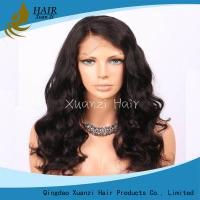 18-22 inch 360 Full Lace Wigs , 360 Brazilian Virgin Hair Full Lace Fake Hair