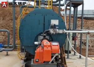 China Automatic Diesel Oil Fired Steam High Efficiency Boiler 2 Ton In Alcohol Factory on sale