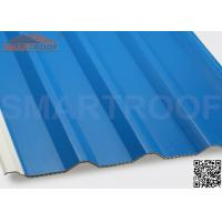 94% Efficiency PVC Hollow Plastic Roofing Panels Sheets With Low Heat Conductivity