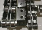 Small Stainless Steel Roller Conveyor Chain Short Pitch Durable Custom Made