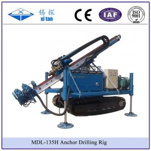 China MDL-135D Great Torque Portable Engineering Anchoring Drilling Rigs(geothermal hole and well) on sale