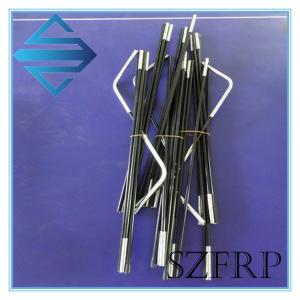 China Flexible Fiberglass Tent Poles on sale