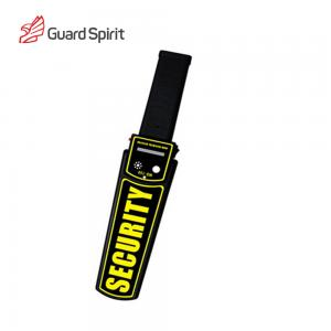 China Super Scanning Handheld Metal Detector / Rechargeable Airport Security Detector With LED Alarm on sale